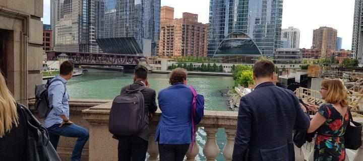 Izhodna poslovna delegacija lesarjev v Chicago, ZDA
